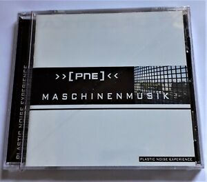 PLASTIC NOISE EXPERIENCE - MaschinenMusik CD (EBM) - New! Incelofanato!