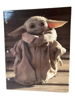 Star Wars Mandalorian Baby Yoda 3-hole 2-pocket Portfolio Folder
