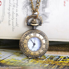 """1PC Hot Bronze Tone Necklace Chain Quartz Pocket Watch 86cm(33-7/8"""") B12533"""