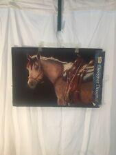 Designer Doormat Western Horse Motif Indoor/Outdoor New  Made in the USA