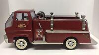 Vintage Tonka Pressed Steel Pumper Fire Truck 1960's Truck SOLID!