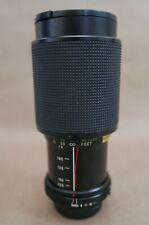Vivitar 75-205MM Macro Focusing Zoom f3.8 Lens, Minolta M/MD Mount, Caps, Exc
