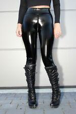 Slinkystylez ORIGINAL Schritt-Zip-Leggings HL5A_ZV6 LACK Schwarz M
