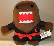 "6.5"" Karate Domo Plush Character Black Gi Martial Arts Nanco"