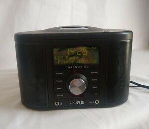 Pure Cronus CD Series 2 with DAB/FM Radio Clock Alarm in Black