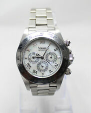 Stauer Monaco Day/Date/24h Military Time Automatic 21J Watch Cal.Sea-Gull ST 16