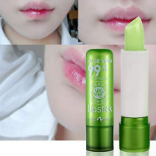 1pcs New Changing Long Lasting Color Mood Aloe Vera Lipstick Beauty Moisturizing