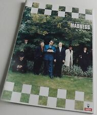 MADNESS MADDEST SHOW ON EARTH CONCERT PROGRAMME + STUBBS