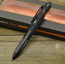 UZI Tactical Glassbreaker Self Defense Pen Black + Handcuff Key UZI-TACPEN6-BK