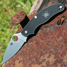 Couteau Spyderco UK Pen Knife Black Manche FRN Acier BD-1 Made In USA SC94PBK