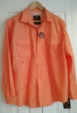 WALNUT CREEK MENS LARGE NWY NEW ORANGE SHIRT BUTTON DOWN