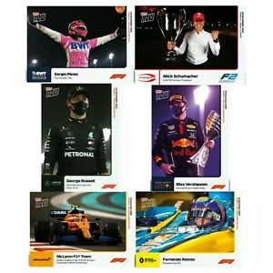 TOPPS NOW F1 CARDS NUMBERS 17, 19, 22, 24 & 25, CHOOSE THE CARD YOU WANT
