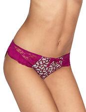 Ladies M & S Size 10 Helanka Bikini Knickers Panties Briefs Magenta