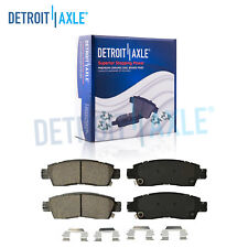 Rear Ceramic Brake Pads - Enclave Rainier SSR Outlook Trailblazer Traverse 9-7X