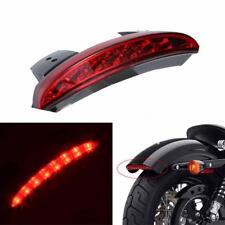 12V LED Motorcycle Brake Stop License Plate Tail Light For Harley Chopper I4B4