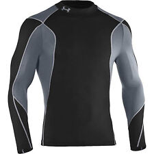 UNDER ARMOUR MENS EU HYBRID FUSION LS MOCK TOP XXL 1233272/001