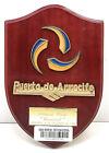 """Vintage Antique Wooden Plaque & Sign """"Puerto De Arrecife"""" For Home Decor"""
