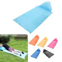 Camp Tent Self Inflating Waterproof Air Mattress Sleeping Mat Pad w/ Pillow