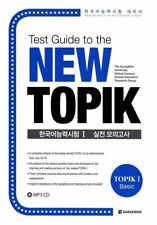 Test Guide Education New TOPIK Test of Proficiency in Korean I with CD Paperback