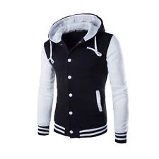 Men's Outwear Sweater Winter Hoodie Warm Coat Baseball Jacket Hooded Sweatshirt
