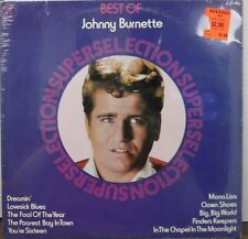 The Best of Johnny Burnette Super Selections 33RPM    111116LLE