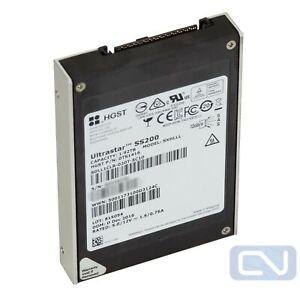 """2TB 12Gb/s SAS 2.5"""" SSD HGST TS1416 Sandisk SDLL1CLR-020T-5C10 500 Power Hours"""