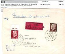 Briefmarken der DDR (1949-1990) mit Post- & Kommunikations-Motiv