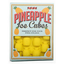 NEW Party Pineapple Ice Cube Moulds With Pina Colada Recipe