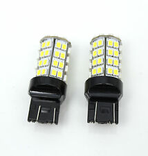 T20 60-SMD Switchback (White + Amber/Yellow) Turn Signal Blinker LED Light Bulbs