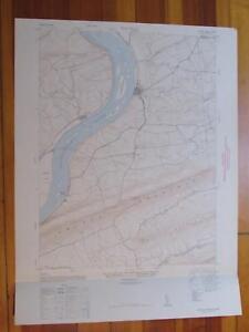 Halifax Pennsylvania 1947 Original Vintage USGS Topo Map
