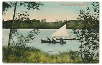 Sailing On Puslinch Lake Hespeler Ontario Cambridge ON Chas. P. Grill c. 1915