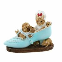 Beatrix Potter Old Woman Who Lived In a Shoe Mini Collectable Figurine - Boxed
