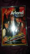 Musikkassette Henry Arland mit seinen Söhnen Hansi & Maxi / Rosenmelodie NEU OVP