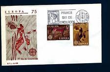SPAIN - SPAGNA - 1975 - Europa. Dipinti del XII secolo - (A)