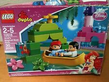LEGO Duplo Ariel's Magical Boat Ride #10516 Ages 2-5 30 Pieces Complete