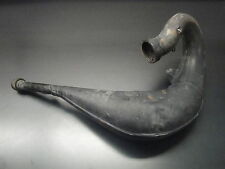 2002 02 YAMAHA YZ125 YZ 125 YZF MOTORCYCLE ENGINE EXHAUST PIPE CHAMBER CAN