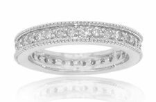 1.05 ct Ladies Round Cut Diamond Eternity Wedding Band Ring In Platinum