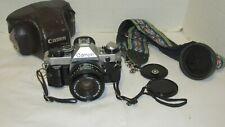 Vintage Canon AE 1 Program 50 mm F1.8 Lens 35 mm SLR Japan LQQK!