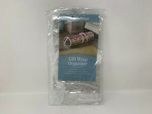 New Whitmor Gift Wrap Organizer Stores Up To 25 Rolls #8