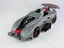 SPIDER-MAN Web Car 15-inch silver vehicle 2002 Toy Biz Marvel Comics grab pincer