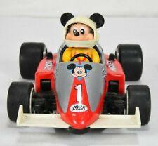 Vintage 1988 Walt Disney Mickey Mouse Tin Champ 1928 Race Car Japan Toy Masudaya