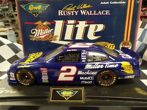 Rusty Wallace #2 Miller Lite Adventures of Rusty 1998 Taurus 1:18 scale Revell