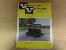 August 1967, VETERAN & VINTAGE, Diethelm Doll, Ian Dussek, Laurin-Klement Story.