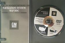 2005 2006 2007 PONTIAC GRAND PRIX NAVIGATION DISC DVD CD 15932106 GPS MAP DISK
