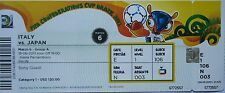 TICKET FIFA Confed Cup 2013 Italy - Japan Match 6 in Recife