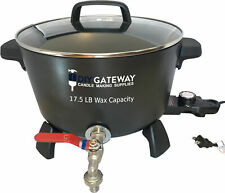 Extra Large Wax Melter for Candle Making: 17 LB+ Wax Capacity Electric Wax Pot