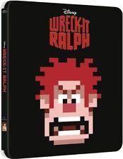 Wreck-It Ralph Limited Edition SteelBook [Blu-ray, Region Free, 1-Disc] NEW