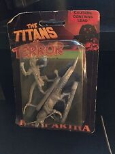 Ral Partha The Titans of Terror Ssahgar the Lizardman and Saurian Watchdog Rare