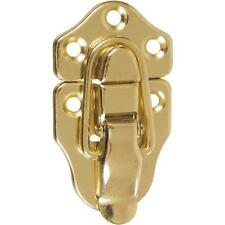 30 Pk Steel Brass Plated Trunk Chest Case Draw Clasp Latch Catch 2/Pk N208595