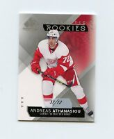 15/16 SP GAME-USED SPGU ROOKIE RC #106 ANDREAS ATHANASIOU 37/72 RED WINGS